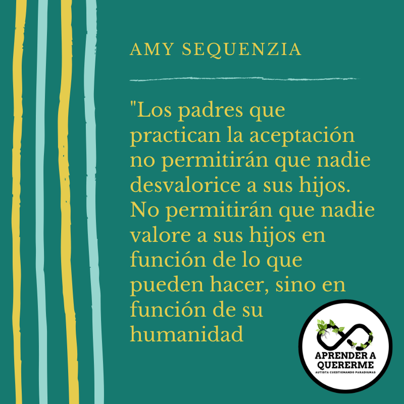 La Aceptación del autismo requiere acción – Amy Sequenzia