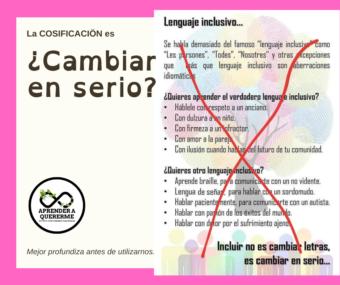 """""""Esto sí es lenguaje inclusivo"""" 🤮"""