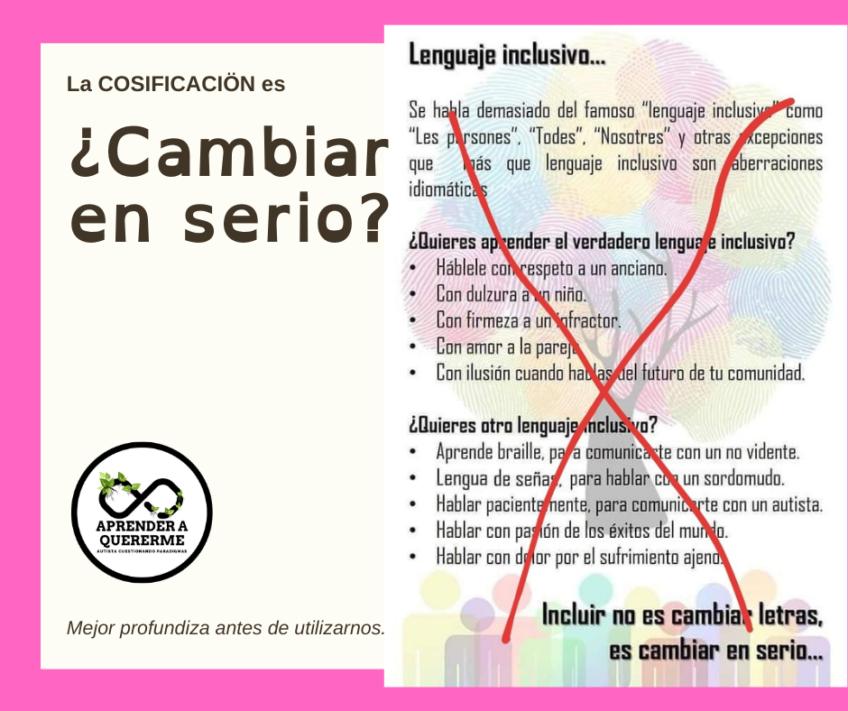 """""""Esto sí es lenguaje inclusivo"""" ?"""